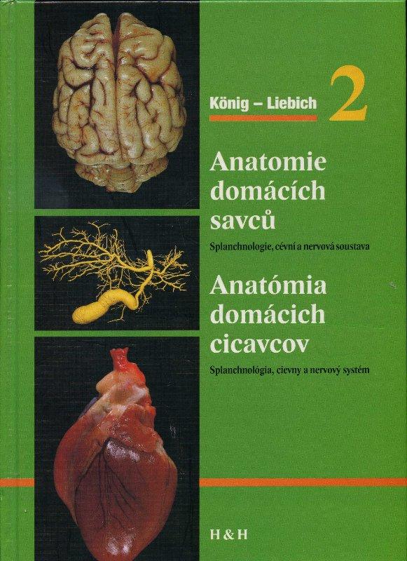 Anatomie domácích savců 2 / Anatómia domácich cicavcov 2 - Splanchnológia, obehový a nervový systém