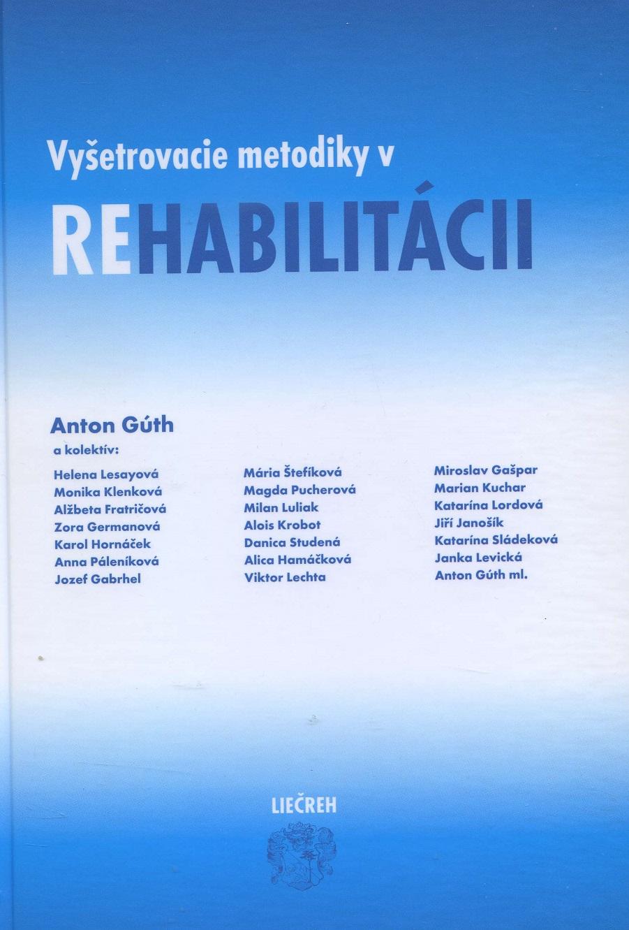 Vyšetrovacie metodiky v rehabilitácii