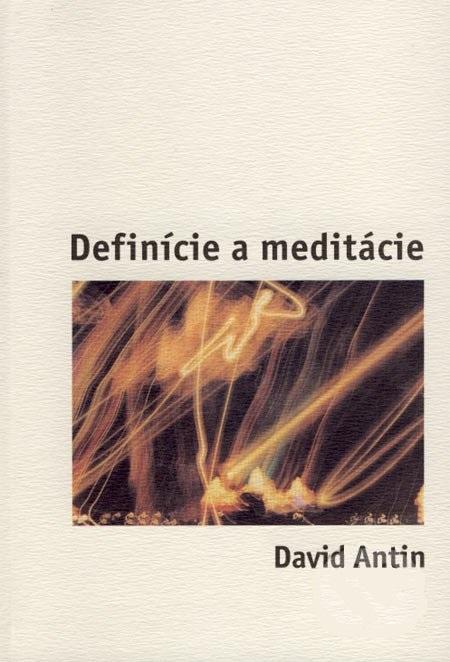 Definície a meditácie