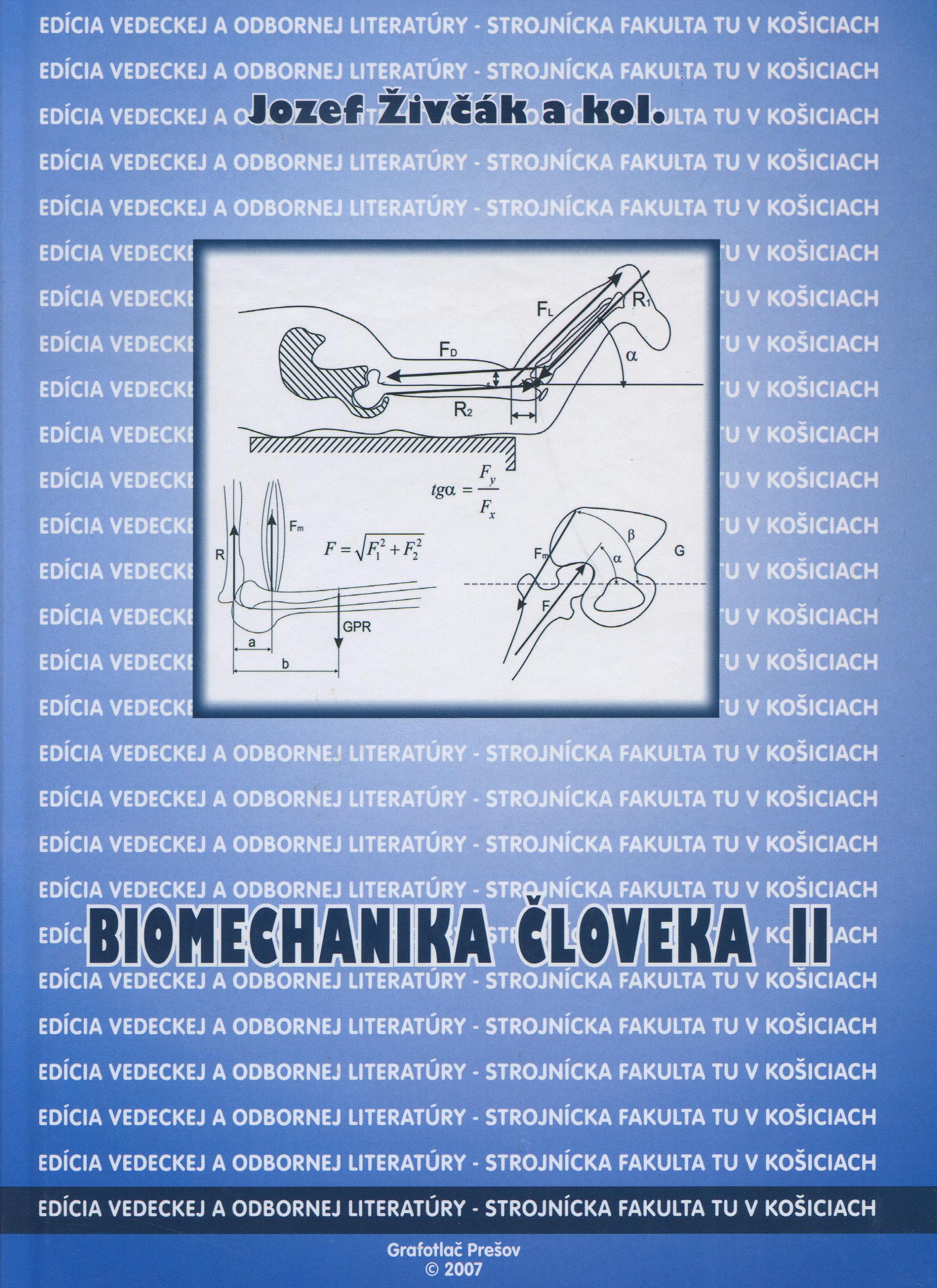 Biomechanika človeka II.