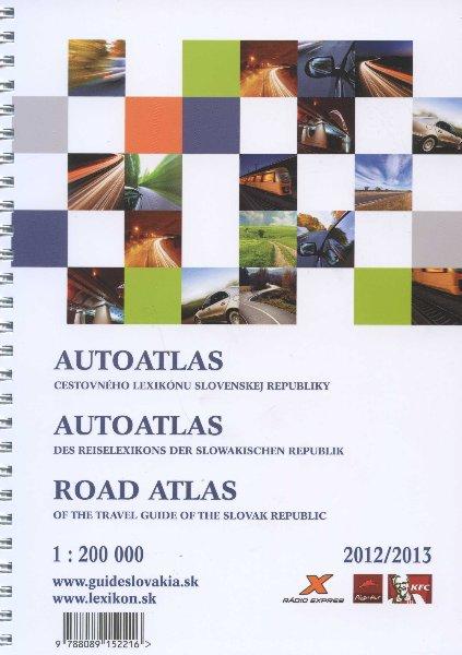 AutoAtlas cestovneho lexikonu Slovenskej Republiky 2012/2013