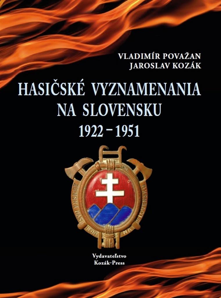 Hasičské vyznamenania na Slovensku 1922  1951