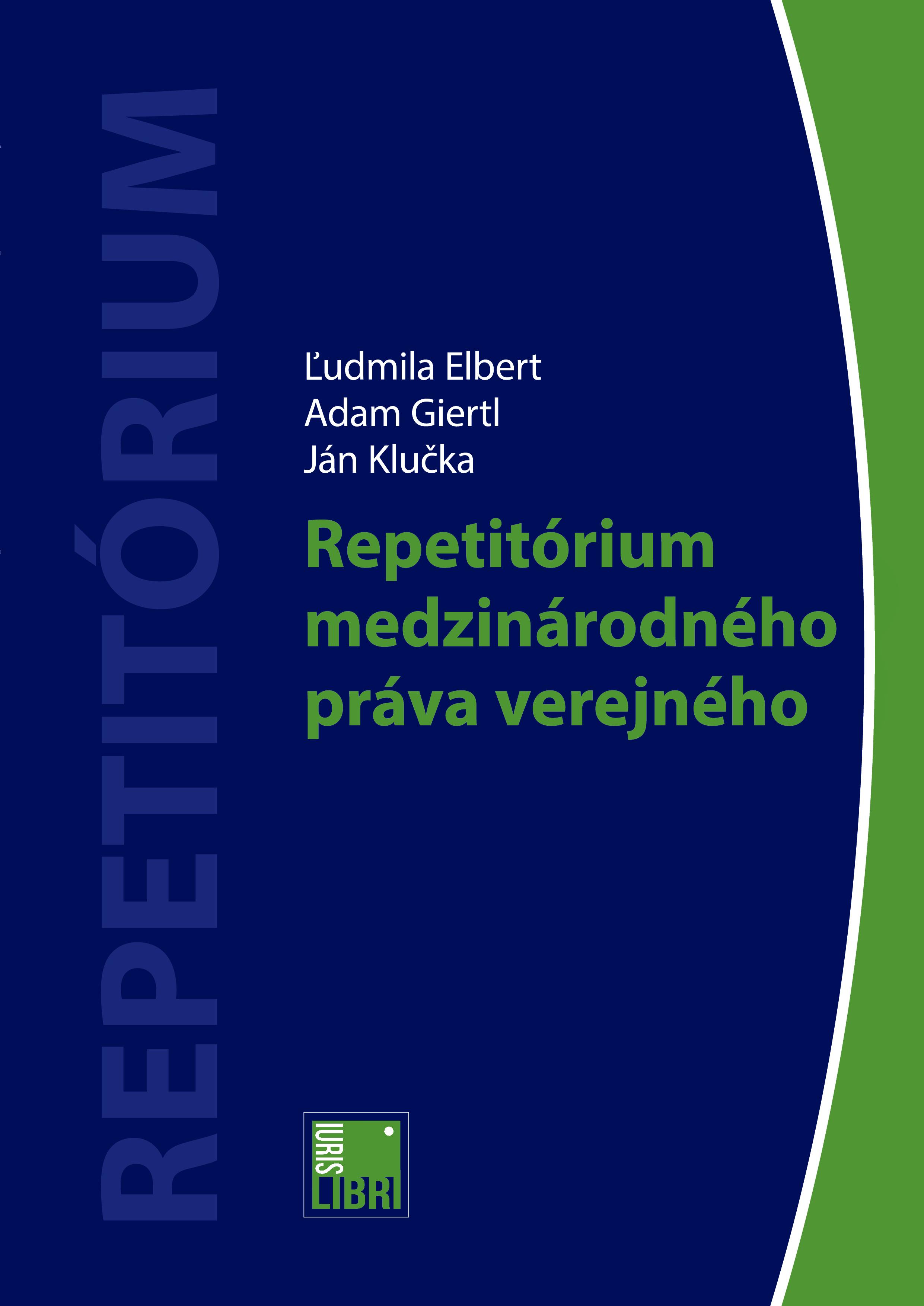 Repetitórium  medzinárodného práva verejného