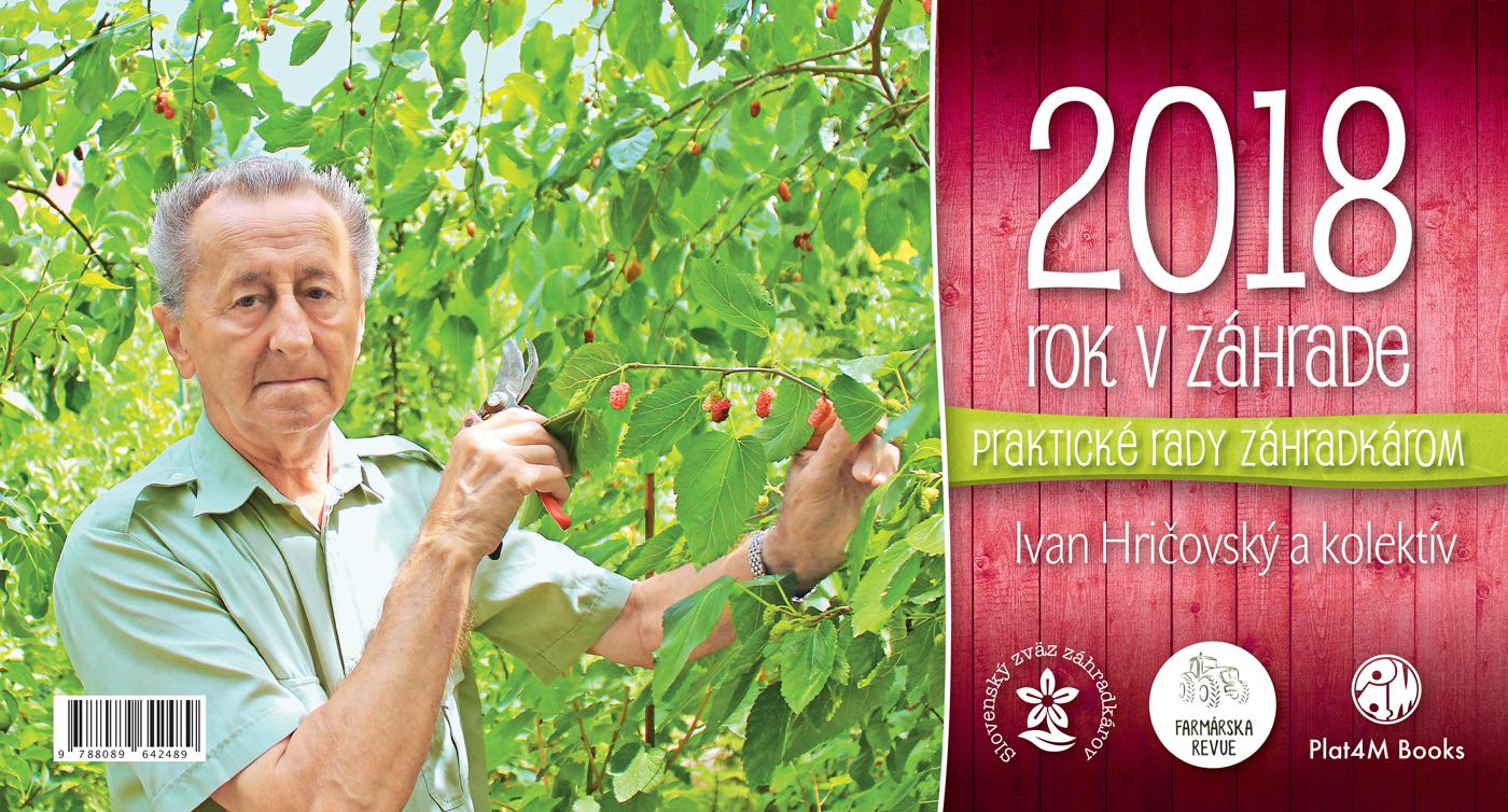 Kalendár 2018  - Rok v záhrade - stolový kalendár