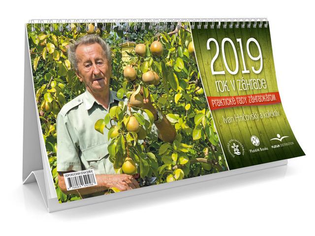 Kalendár 2019  - Rok v záhrade - stolový kalendár