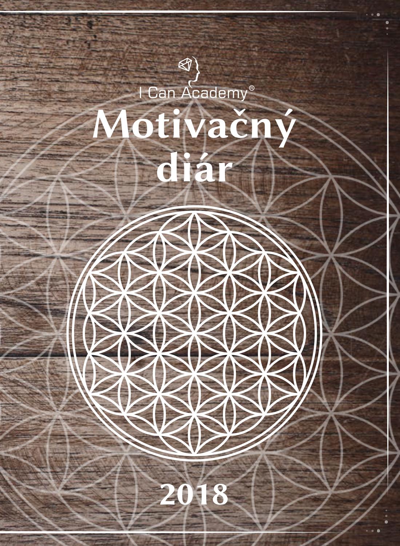 I Can Academy Motivačný diár 2018 - Štyri najdôležitejšie oblasti života