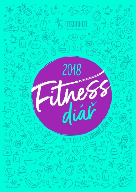 Fitness diář 2018  (český jazyk) - Moje cesta za zdravějším JÁ