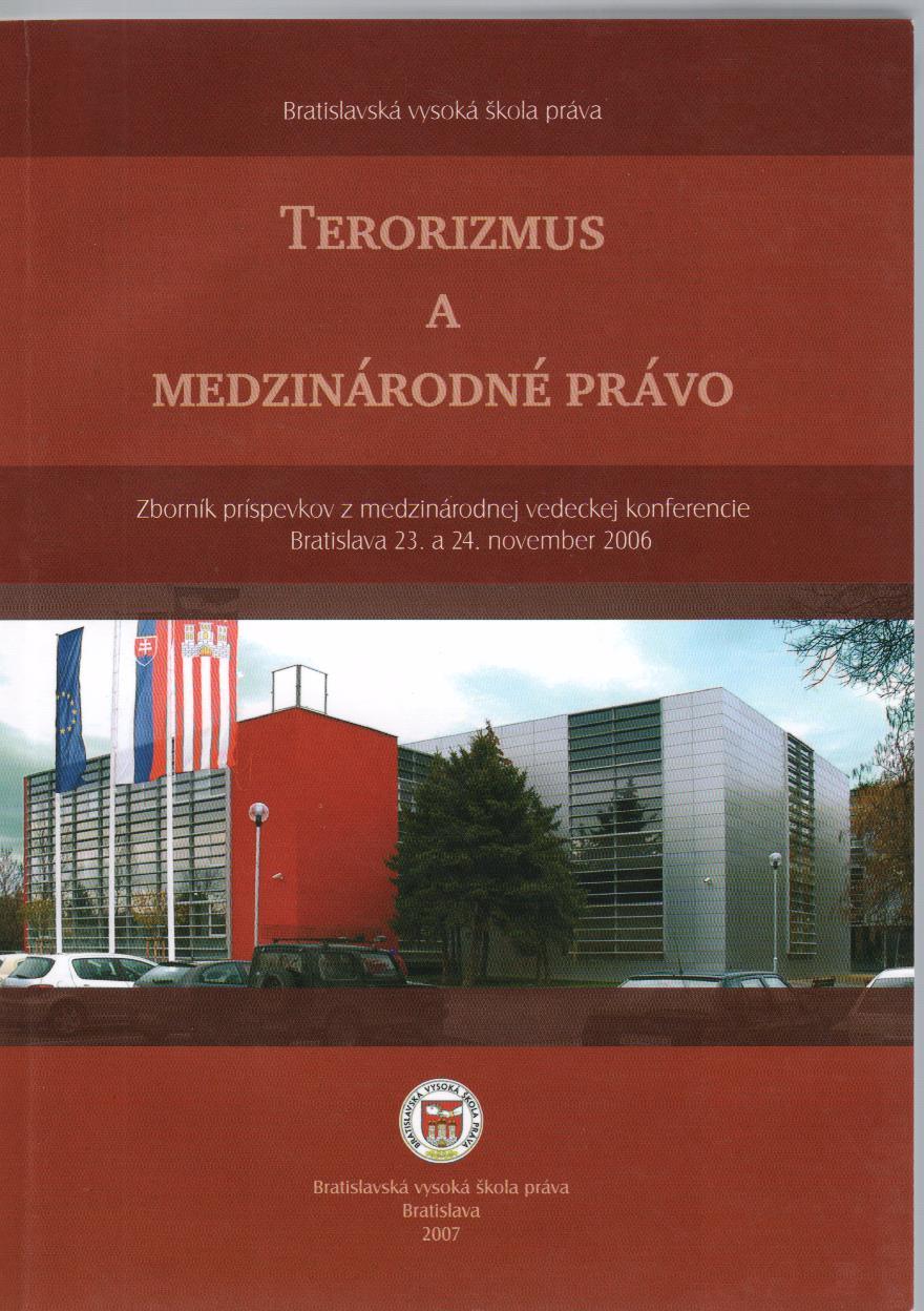 Terorizmus a medzinárodné právo
