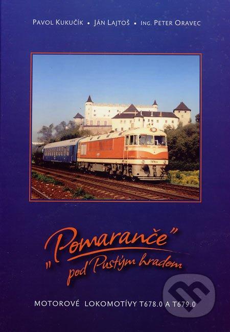 """""""Pomaranče"""" pod Pustým hradom - motorové lokomotívy T678.0 a T679.0"""