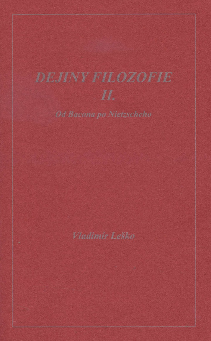 Dejiny filozofie II.