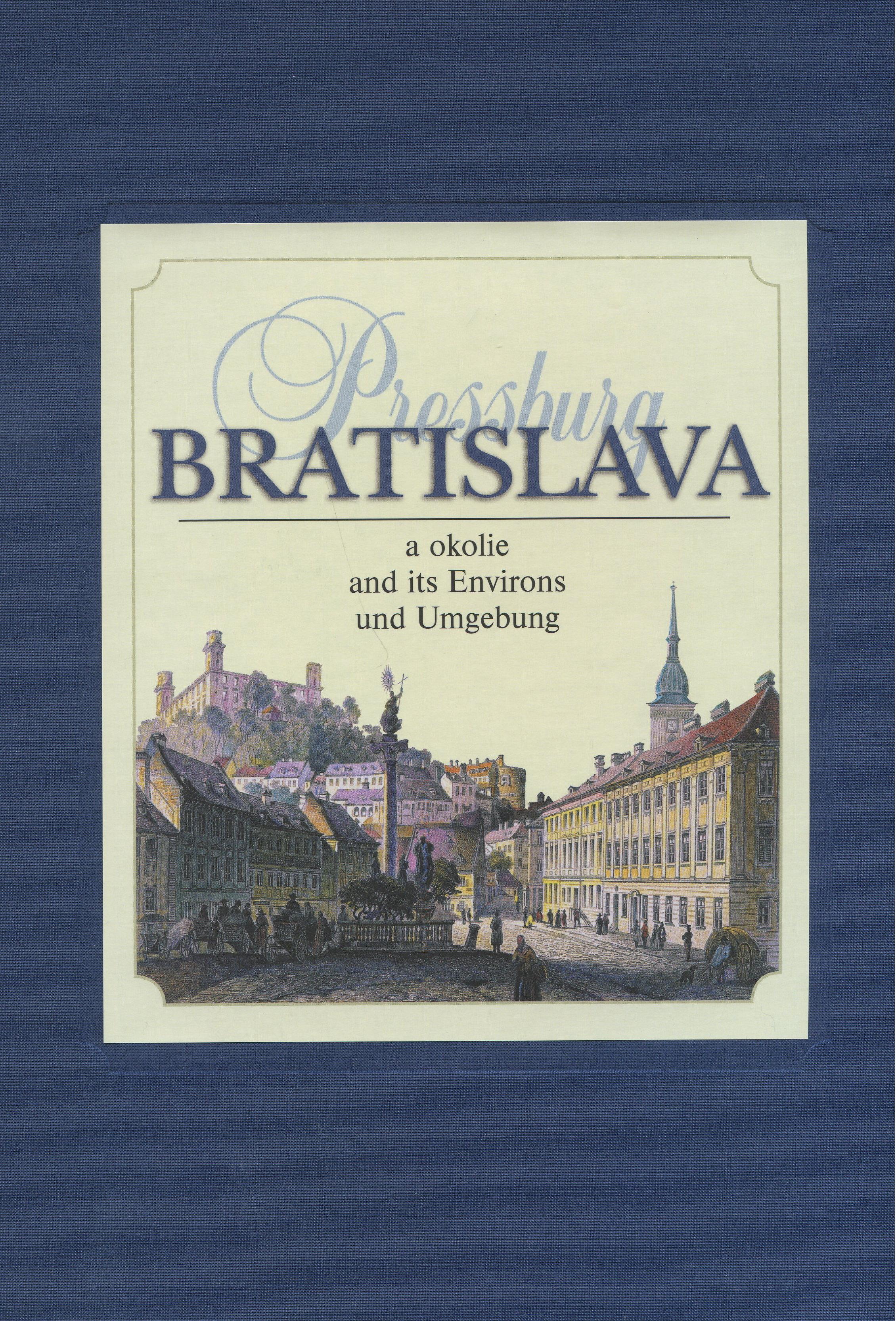 Bratislava a okolie - Pressburg