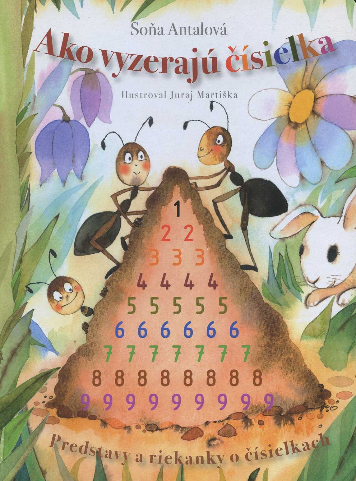 Ako vyzerajú čísielká - predstavy a riekanky o čísielkach