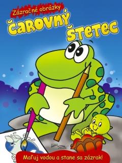 Čarovný štetec - žaba