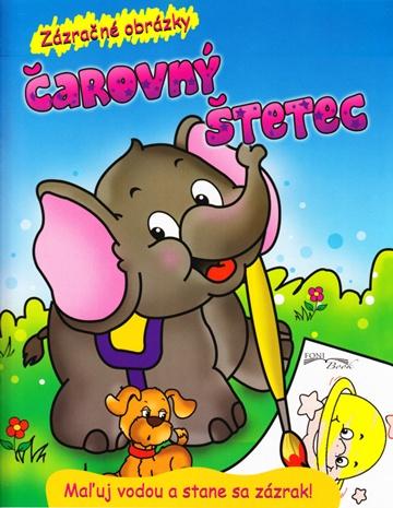 Čarovný štetec - slonik - Maľuj vodou a stane sa zázrak