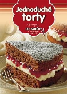 Jednoduché torty (1) - Recepty od babičky s obrázkovým postupom