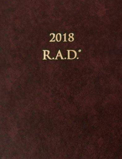 Diár úspechu® 2018 - R.A.D