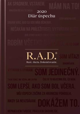 Diár úspechu 2020 - R.A.D. Rast. Akcia. Dokončovanie.