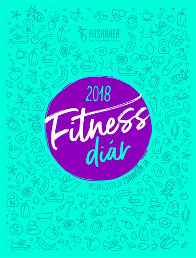 Fitness diár 2018 - Moja cesta za zdravším JA