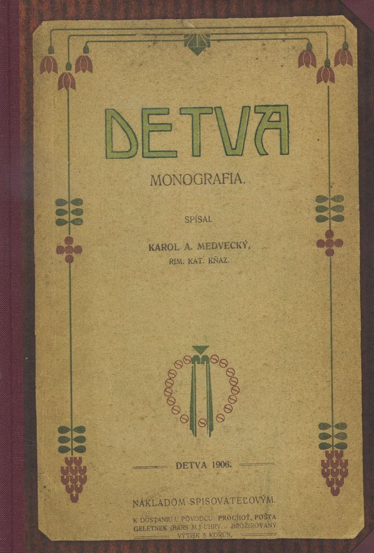 DETVA - Monografia