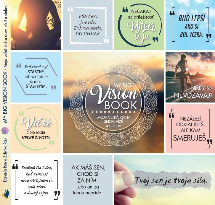 My Big Vision Book / Moja veľká kniha snov, vízií a cieľov