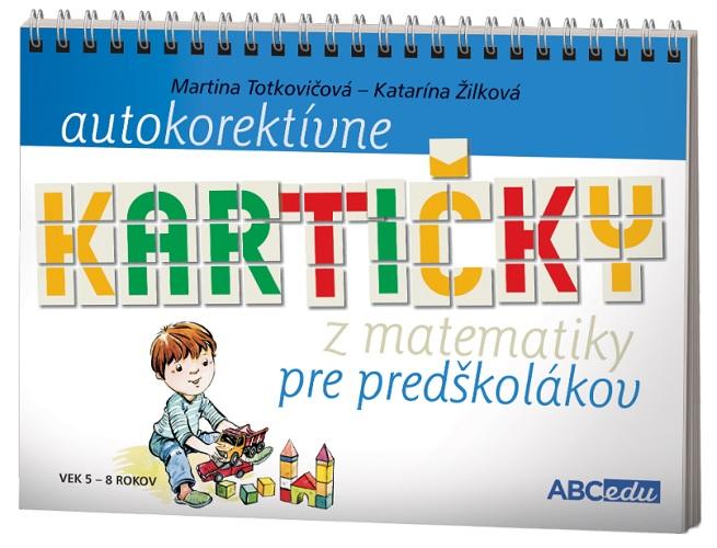 Autokorektívne kartičky z matematiky pre predškolákov - vek 5-8 rokov