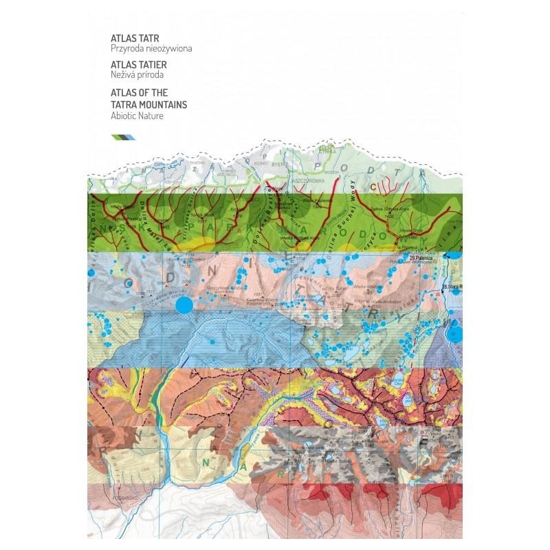 Atlas Tatier / Atlas Tatr / Atlas of the Tatra Mountains - Neživá Príroda / Przyroda nieoźywiona / Abiotic Nature