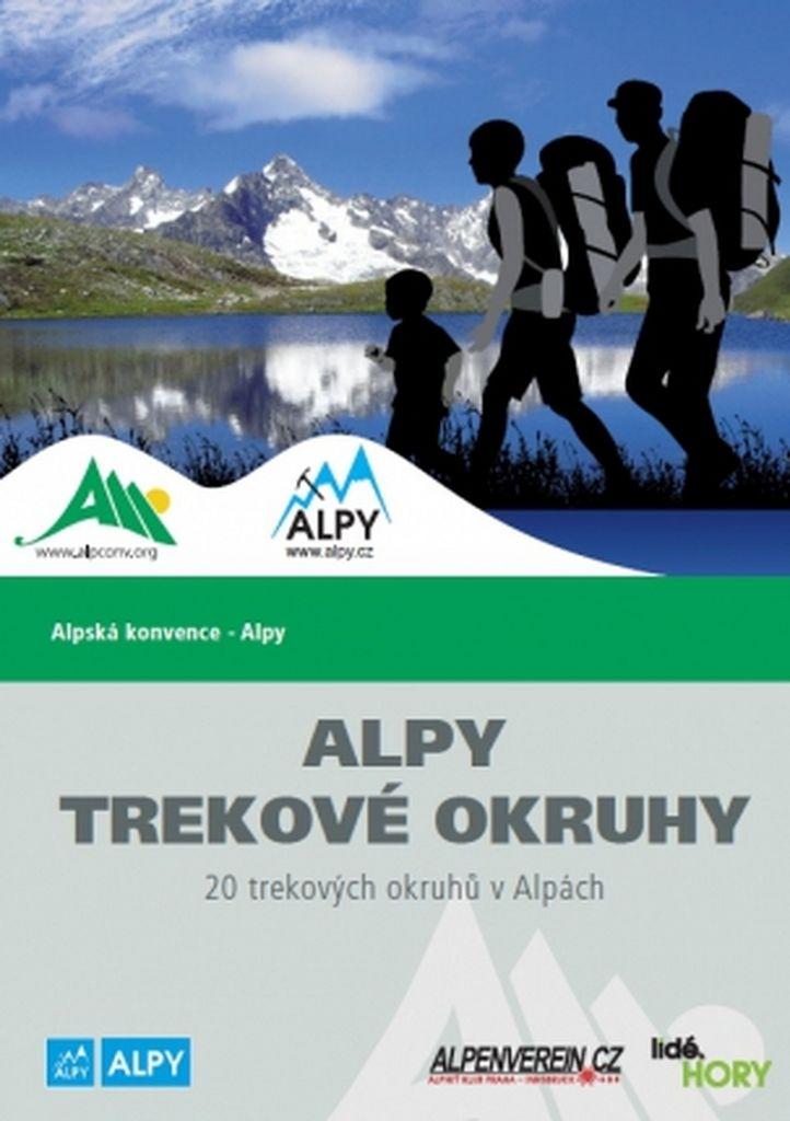 Alpy - trekové okruhy - 20 trekových okruhů v Alpách