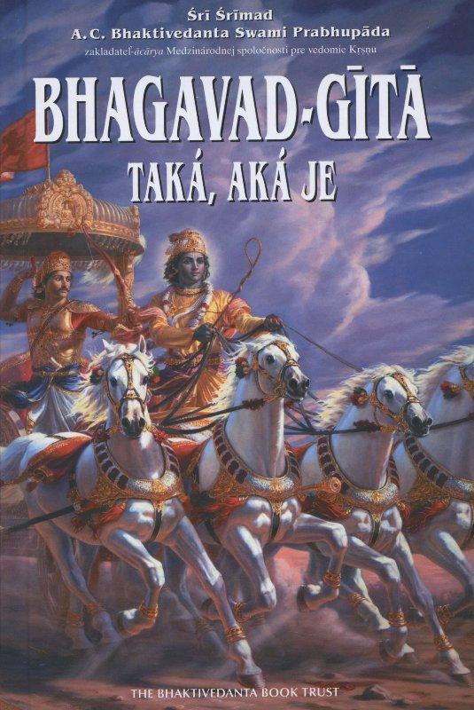 Bhagavad-Gítá - Taká, aká je