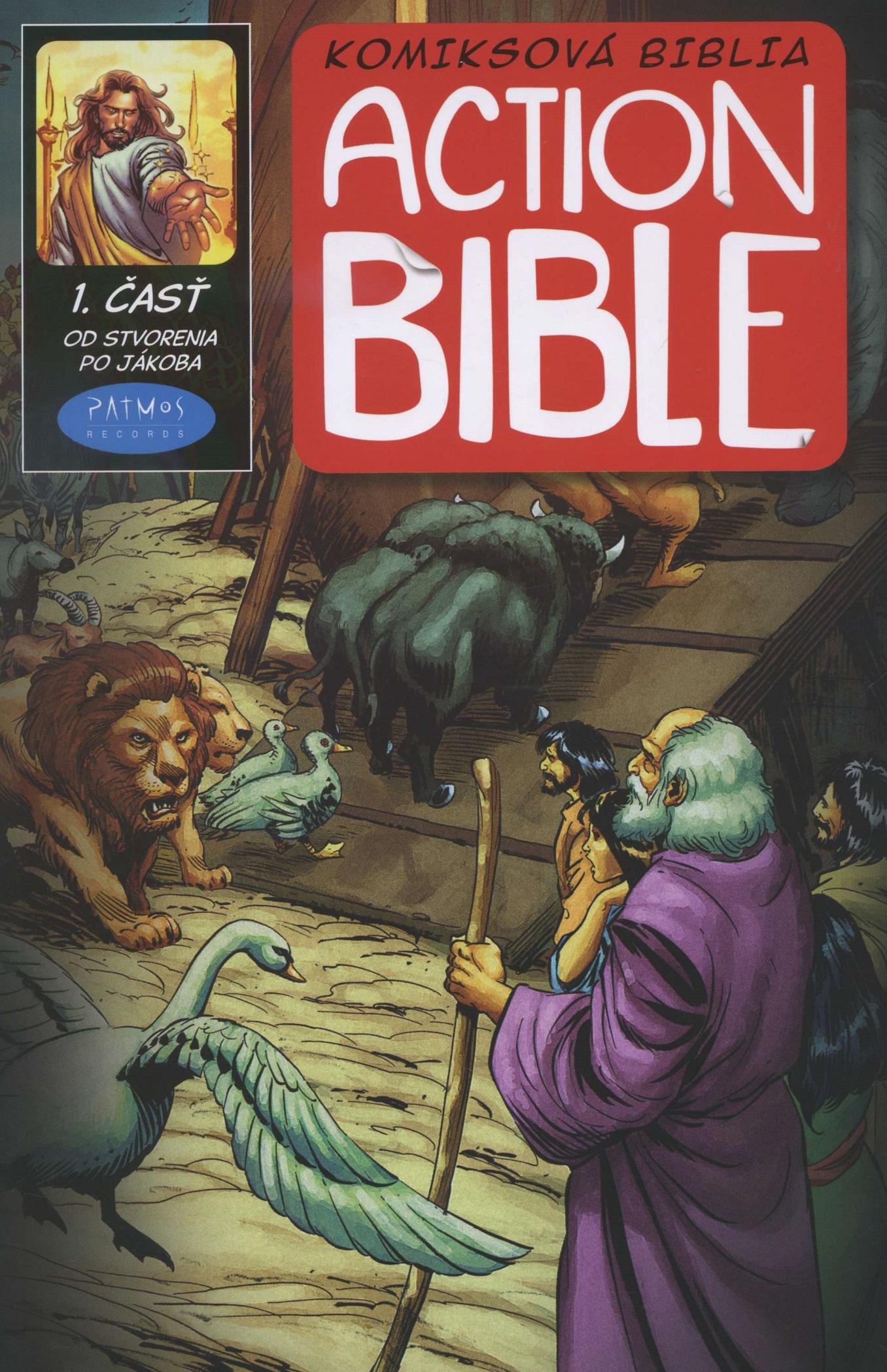 Action Bible 1. časť - komiksová biblia