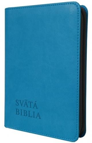 Svätá Biblia / Roháček vrecková - tyrkysová